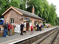 2009 at Crowcombe Heathfield station - up platform.jpg