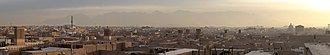 Yazd Province - Yazd panorama from the Amir Chakhmaq Complex.