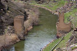 20110419 bridge Akhurian River East view Ani Turkey