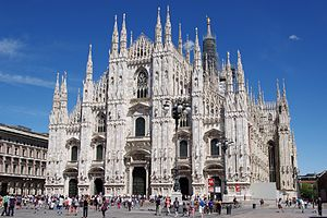 English: Milan Cathedral Polski: Katedra w Med...
