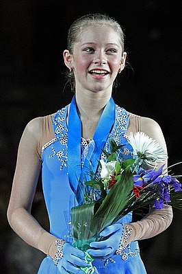 Joelia Lipnitskaja in december 2011