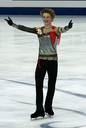 Uzbekistan at the 2014 Winter Olympics - Misha Ge (seen here in 2011) competed in figure skating.