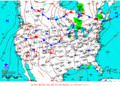 2013-07-19 Surface Weather Map NOAA.png