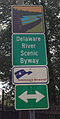2014-05-10 13 19 43 Delaware River Scenic Byway sign along New Jersey Route 175 at New Jersey Route 29 cropped.jpg