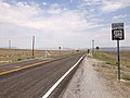 2014-07-17 13 56 50 First reassurance sign along southbound Nevada State Route 375 in Warm Springs, Nevada.JPG