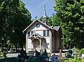 2014 Kłodzko, cmentarz komunalny, kaplica 02.jpg
