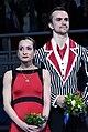 2014 Olympics Ksenia Stolbova and Fedor Klimov.jpg
