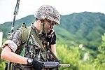 2015.7.10 육군 제27보병사단 거점방어전투사격 Strong Point Defense, Republic of Korea Army The 27th Infantry Division (19817222256).jpg