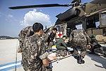 2015.9.22 육군 의무후송항공대 '메디온' Aeromedical evacuation 'MEDEON', Republic of Korea Army Aviation Operation Command (22374541318).jpg