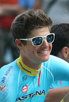 2015 Tour de France team presentation, Jakob Fuglsang.jpg