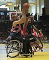 2016 Invictus Games, US Wheelchair Basketball Team plays UK for gold 160512-D-BB251-005 (cropped).jpg