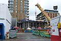 2016 Woolwich Crossrail station construction site 02.jpg