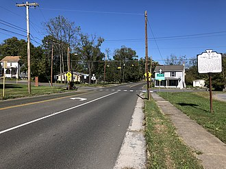 Boyce, Virginia - US 340 in Boyce