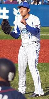 Katsuki Azuma baseball player (1995-)