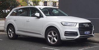 Volkswagen Bratislava Plant - Audi Q7 is produced at the Volkswagen plant in Bratislava.