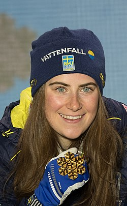 20190228 FIS NWSC Seefeld Medal Ceremony Team Sweden 850 5895 Ebba Andersson.jpg
