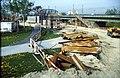 207R29270492 Bereich Nordbahnbrücke, Bau der Trasse für die U Bahn Linie U6, Nordbahnbrücke Ostseite, Standort Donauinsel.jpg