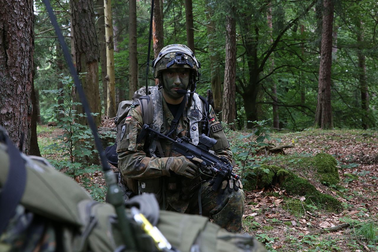 File 2684754 A German Bundeswehr Soldier Of 4th