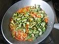 2839Home cooking of ginisang sayote, ampalaya and carrots 33.jpg