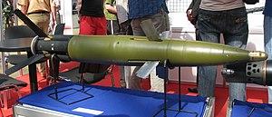 Krasnopol (weapon) - 30F39 Krasnopol guided projectile