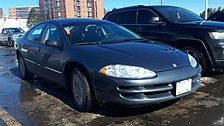 1998-2004 Chrysler Intrepid photographed in Sault Ste. Marie, Ontario, Canada