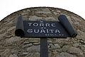 342 Torre de la Timba (Canet de Mar), rètol.JPG