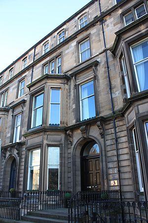 George Alexander Gibson - Gibson's house at 3 Drumsheugh Gardens, Edinburgh
