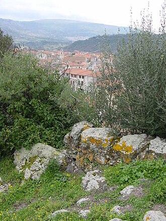 Siligo - Image: 450px Siligo. Panorama da su Runaghe