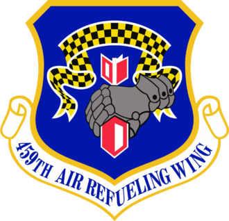 459th Operations Group - Image: 459th Air Refueling Wing