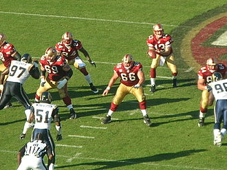 2008 San Francisco 49ers season - Hill takes a snap