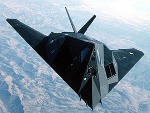 Lockheed F-117A of the 49 FW at Holloman AFB, NM.