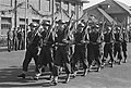 50-jarig bestaan ROS Ermelo, demonstraties oude en nieuwe uniformen, Bestanddeelnr 910-7156.jpg
