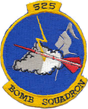 525th Bombardment Squadron - Emblem of the 525th Bombardment Squadron