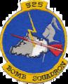 525th Bombardment Squadron - SAC - Emblem.png