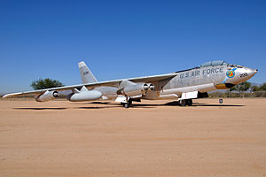 801st Air Division - Boeing EB-47E Stratojet of the 376th Bombardment Wing