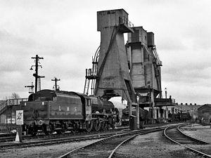 LMS Jubilee Class 5690 Leander - Image: 5690 LEANDER at Carnforth