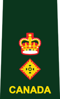 officer rank of the Canadian Armed Forces