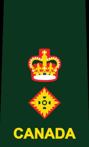 Lieutenant-colonel (Canada) - Image: 5 LTCOL DEU(SHIRT)