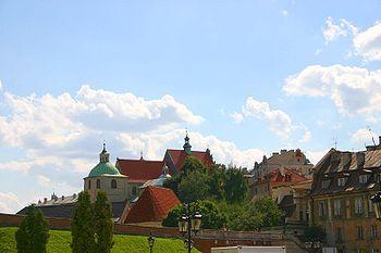 Polski: Kościół dominikanów z placu Zamkowego