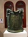 660 Casa Museu Benlliure (València), pedestal del monument a Escalante, de M. Benlliure.jpg