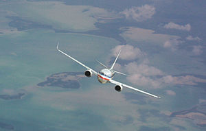 Trespass - Image: 737 800 american airlines from levi april 16 2009