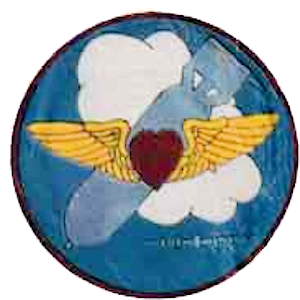 757th Airlift Squadron - Emblem of the World War II 757th Bombardment Squadron