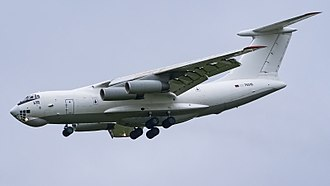 Armenian Air Force - An Il-76 of the Armenian Air Force