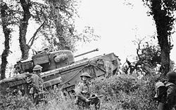 7th Royal Tank Regiment supporting 8th Royal Scots 28-06-1944.jpg