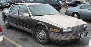 GM K platform (1980) - 1986-1988 Cadillac Seville