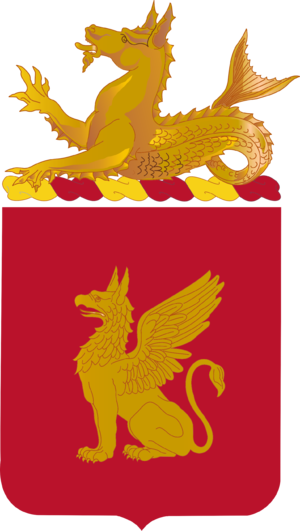 91st Coast Artillery (United States) - Coat of arms