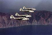 A-6As VMA(AW)-242 1975