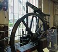 A-frame beam engine, Abbey pumping station, Leicester.jpg