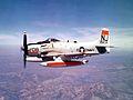 AD-6 Skyraider of VA-122 in flight c1960.jpg