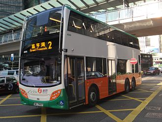 Bus services in Hong Kong - New World First Bus